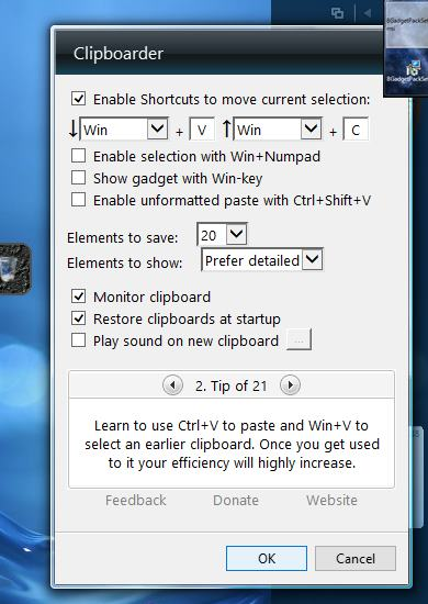 8GadgetPack screenshot