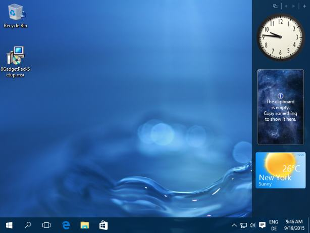 windows 8 gadgets free download for pc